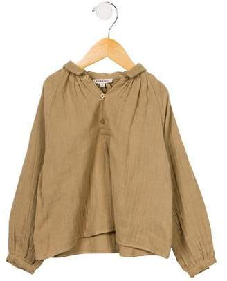 Caramel Baby & Child Girls' Woven Long Sleeve Top w/ Tags
