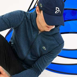 Lacoste Men's Sport Tennis Microfiber Cap - Support With Style Collection for Novak Djokovic