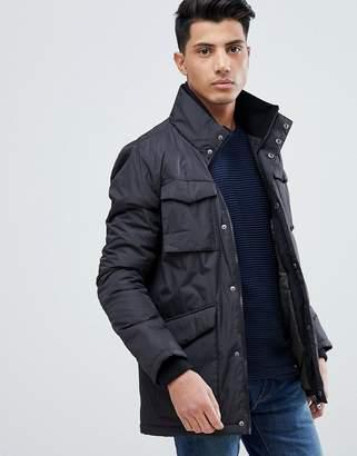 Threadbare 4 Pocket Knitted Collar Jacket