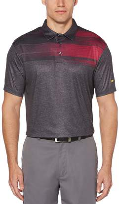 Grand Slam Men's Jack Nicklaus Scattered Heather Chest Polo