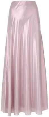 Alberta Ferretti shimmery maxi skirt