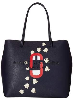 Marc Jacobs Logo Shopper Popcorn Scream East/West Tote