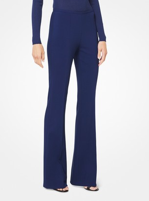 Michael Kors Stretch-Crepe Flared Pants