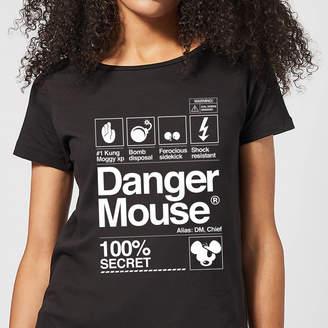 Danger Mouse 100% Secret Women's T-Shirt