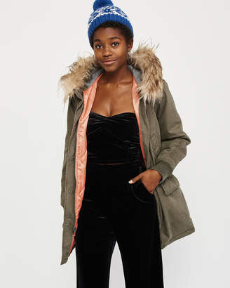 Abercrombie & Fitch Twill Parka