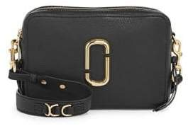 Marc Jacobs The Softshot 27 Leather Crossbody
