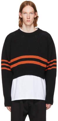 Raf Simons Black Americano Sweater