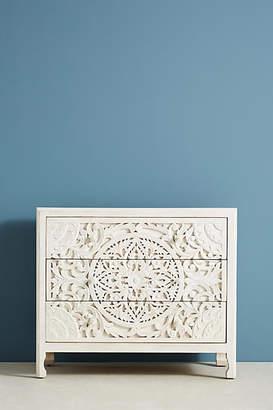 Anthropologie Lombok Three-Drawer Dresser