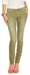 C. Wonder Sunbleach Stretch Skinny Colored Jean