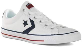 Topman Mens CONVERSE White Canvas Star Player Ox Sneakers