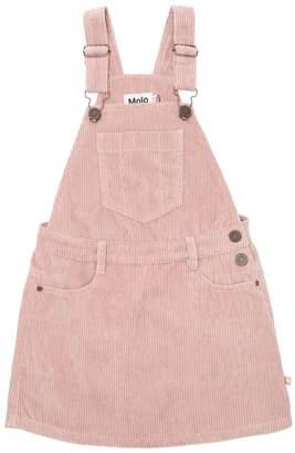 Molo Corduroy Overall Dress