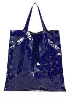 Bao Bao Issey Miyake Prism Gloss Faux Leather Tote $650 thestylecure.com