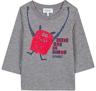 Alphabet Baby Boys' 4m10591-ra T-Shirt, (Grey 25), (Size: 6M)