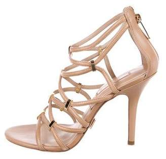 Michael Kors Leather Caged Sandals