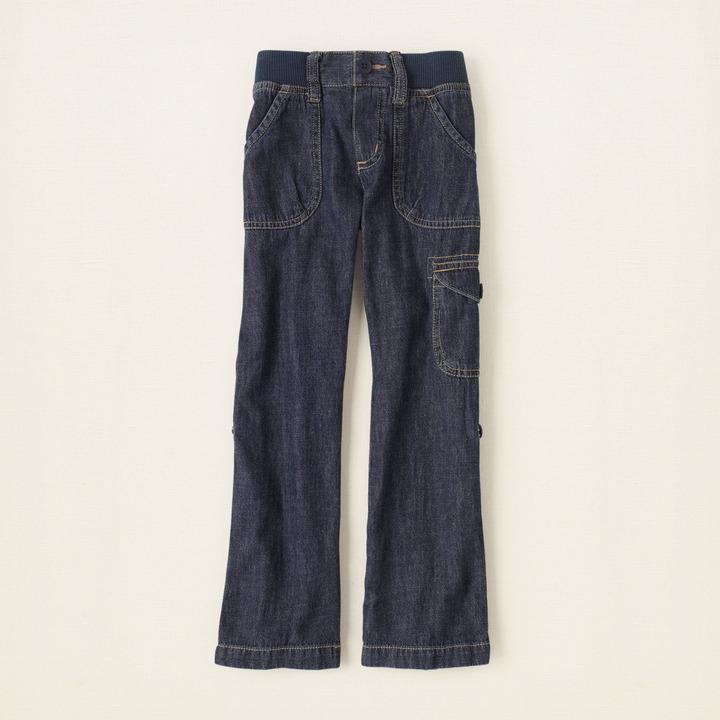 Children's Place Denim utility pants - plus
