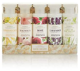 M&S Collection Floral Mixed Bath Creams Gift Set
