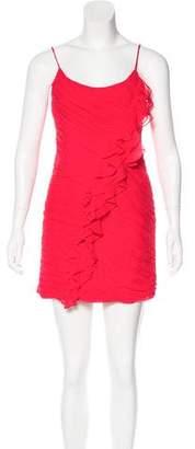 Rebecca Taylor Silk Ruched Dress