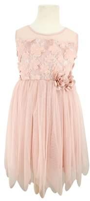 Popatu 3D Flower Tulle Dress