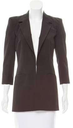 Elizabeth and James Structured Woven Blazer