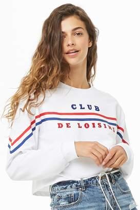 Forever 21 Club De Loisirs Graphic Sweatshirt