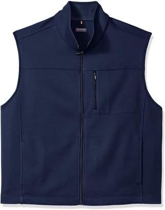 Van Heusen Men's Big-Tall Big and Tall Traveler Solid Full Zip Vest