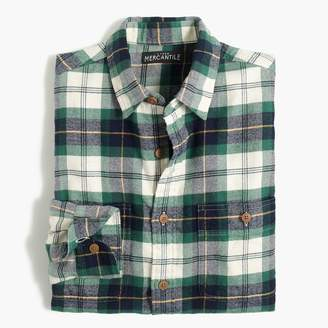 J.Crew Flannel shirt in tartan