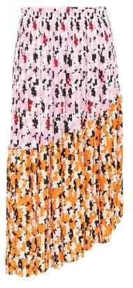 Kenzo Jackie Flowers pleated midi skirt