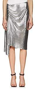 Paco Rabanne Women's Metal-Mesh Knee-Length Skirt - Silver