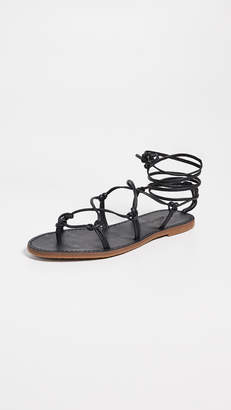 6ff9d15f3e7 Madewell The Boardwalk Lace Up Sandals