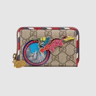 Gucci Courrier GG Supreme card case