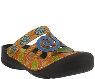 Spring Step L'Artiste Leather Clogs - Bombay