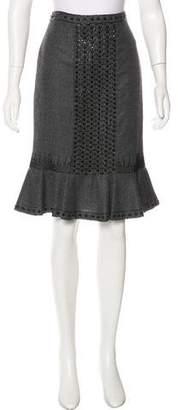 Andrew Gn Wool Knee-Length Skirt