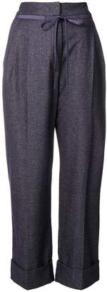 Giorgio Armani cropped flared trousers