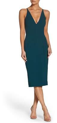 Dress the Population Lyla Crepe Sheath Dress