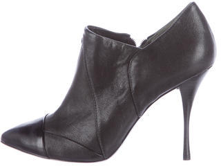 Tory BurchTory Burch Cap-Toe Ankle Boots