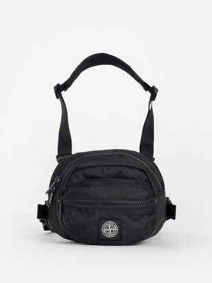 MEN'S BLACK CHEST BAG