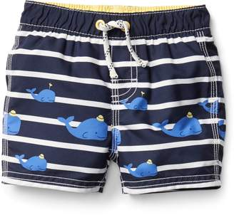 Gap Whale stripe swim trunks