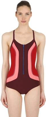 Isabel Marant Toan Color Block Stretch Bodysuit