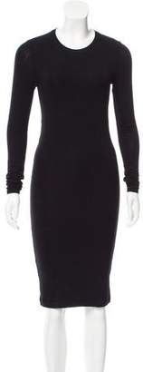 BCBGMAXAZRIA Long Sleeve Knit Dress