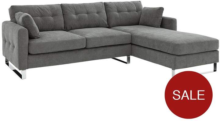 Sphinx 3-Seater Right-Hand Fabric Corner Chaise Sofa