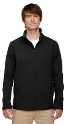 Ash City - Core 365 Men's Cruise Two-Layer Fleece Bonded Soft Shell Jacket - BLACK 703 - 4XL 88184