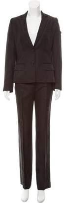 Dolce & Gabbana Silk Pant Suit