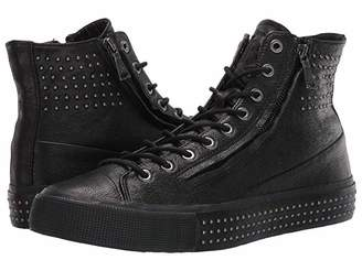 John Varvatos Studded Double Zip Mid Top