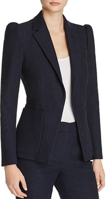 Rebecca Taylor Slub Suiting Jacket $450 thestylecure.com