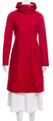 Burberry Lightweight Hooded Coat