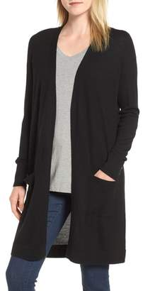 Halogen Long Open Cardigan