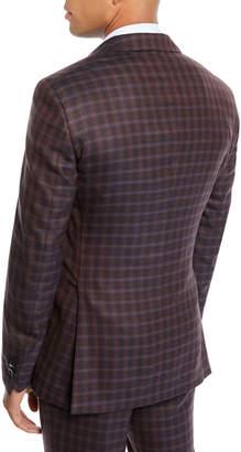 Etro Men's Two-Tone Check Wool Jacket