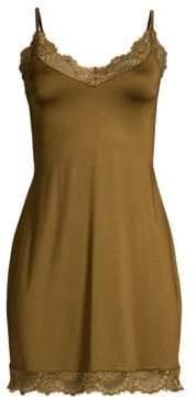 Hanro Laila Lace Trim Slip Dress