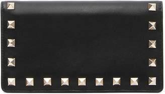Valentino Rockstud Medium Continental Wallet