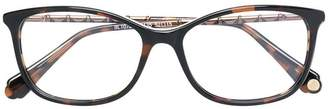 Balmain tortoiseshell effect eye glasses